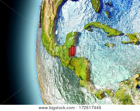 Belize On Planet Earth From Space