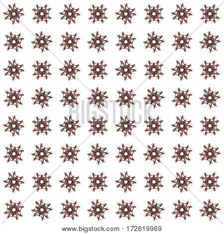 Texture With Maroon Rendering Abstract Fractal Pattern