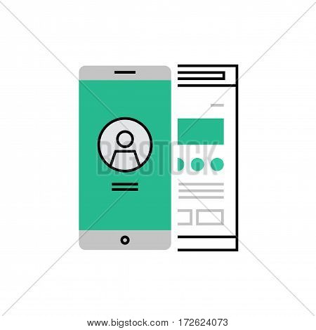 User Interface Monoflat Icon.