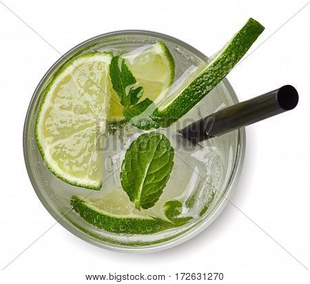 Mojito Cocktail Or Soda Drink