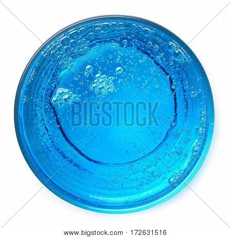Glass Of Blue Cocktail