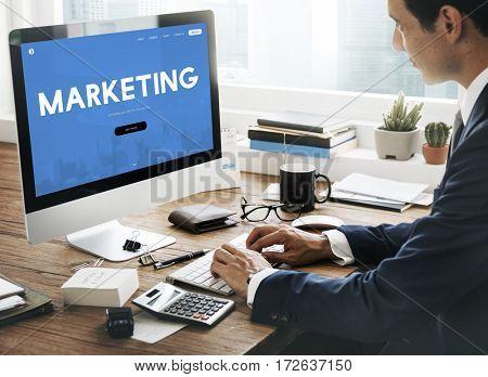 Marketing Business Branding Advertising Word