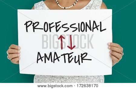 Professional Amateur Expertise Position Occupation