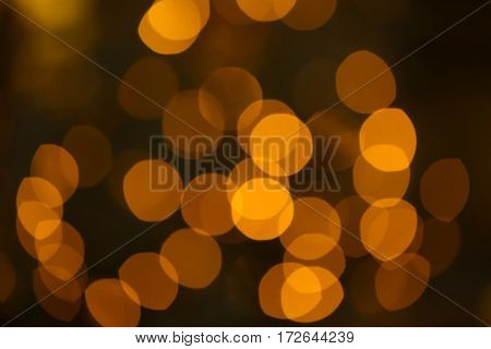 Blurred bright lights background