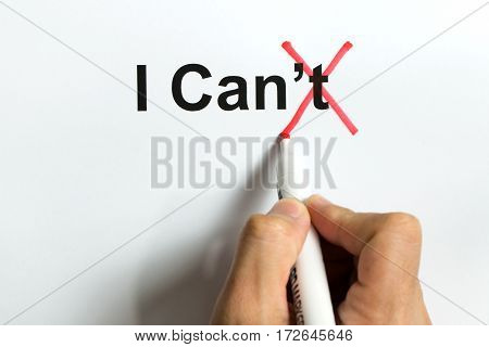 I Can, Self-motivation Quote