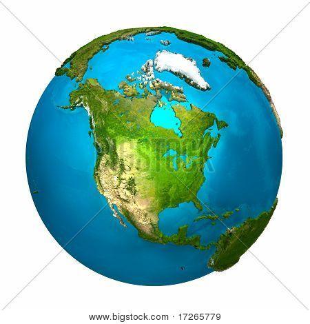 Planetenerde - Nordamerika