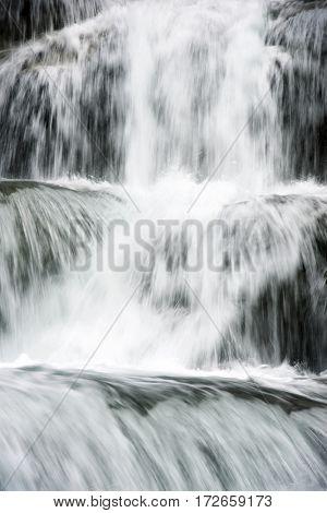 Waterfall in Ordesa National Park, Pyrenees, Huesca Province, Aragon, Spain.