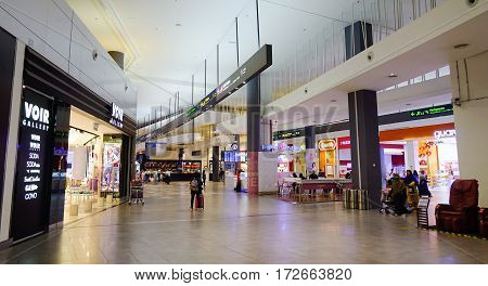 Inside Of Kl Sentral Shopping Mall