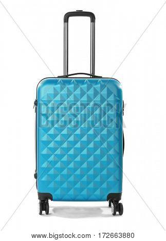 Traveler bag, isolated on white