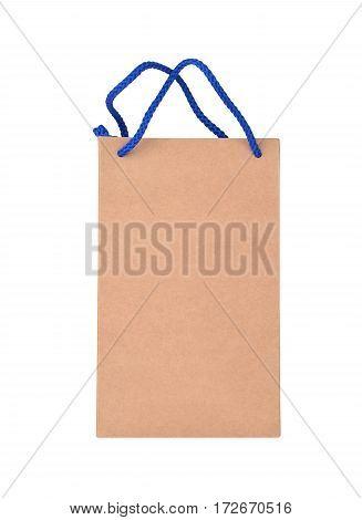 Paper Bag On White