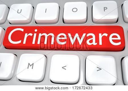 Crimeware - Internet Concept