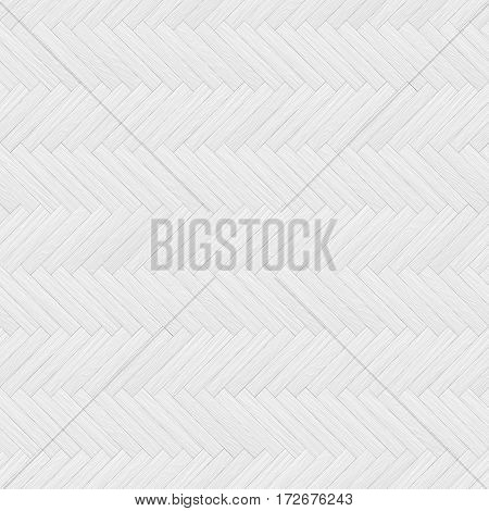 White Parquet Seamless Texture Background