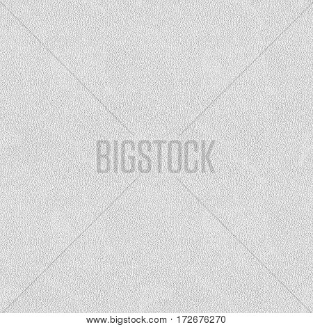 White Leatherette Seamless Texture Background