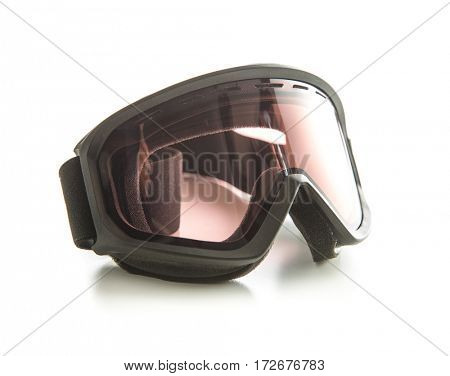 The ski glasses isolated on white background.