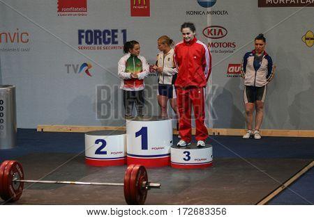 European Weightlifting Championship, Bucharest, Romania, 2009