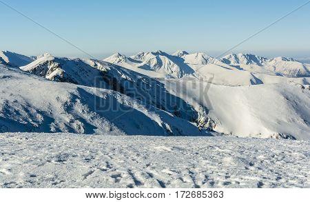 Winter In The Western Tatras.