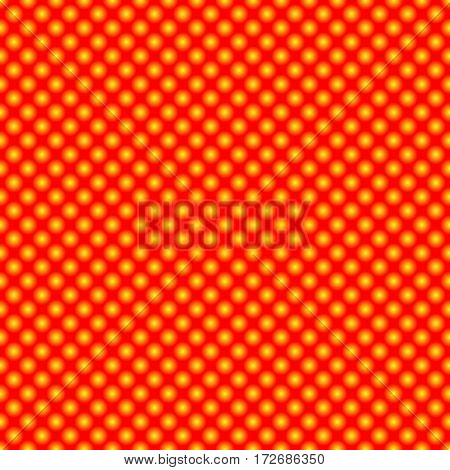 Decorative pattern with luminous spheres. Seamless background.