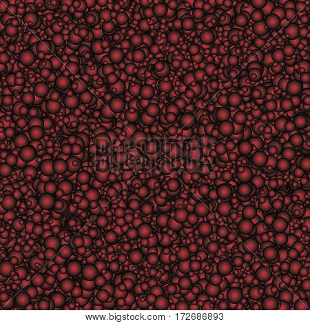 Texture with a decorative surface filled with redspheres.