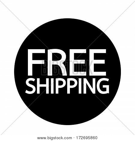 an images of Or pictogram Free Shipping icon