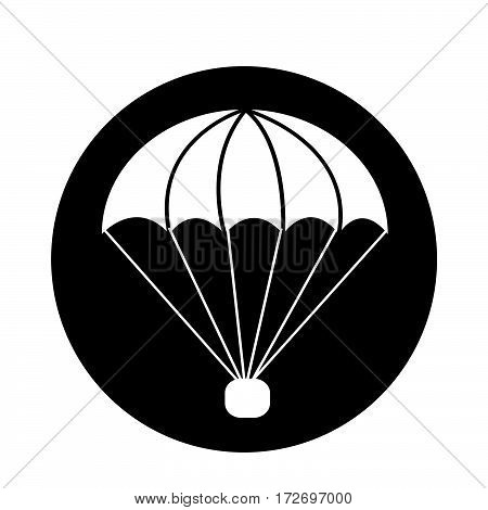 an images of Or pictogram parachute icon