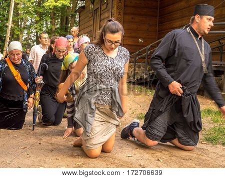 Pilgrims Of The Orthodox Church
