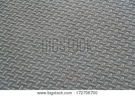 The pattern texture of the metal plate for anti-slip texture. The emboss pattern texture background of the metal plate.