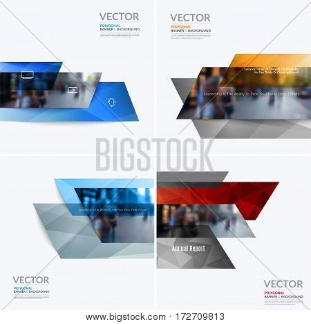 Business vector design elements for graphic layout. Modern abstract background template with many colourful rectangles, banners for PR, business, tech in clean minimal style.