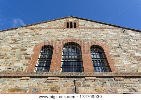 Front Upper Portion, New Building, Adelaide Gaol
