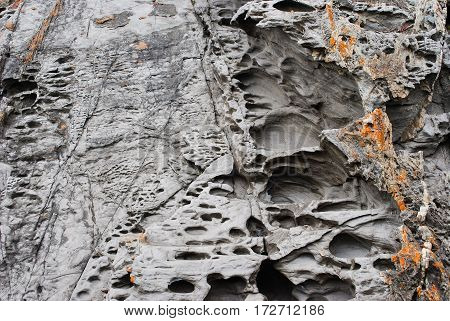 Deposits, Honeycomb Weathering And Coastal Rock Formations