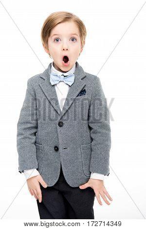 Shocked Little Boy