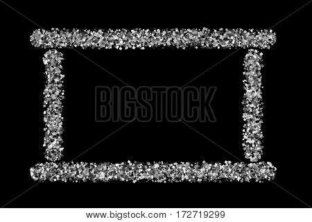 Silver Frame.