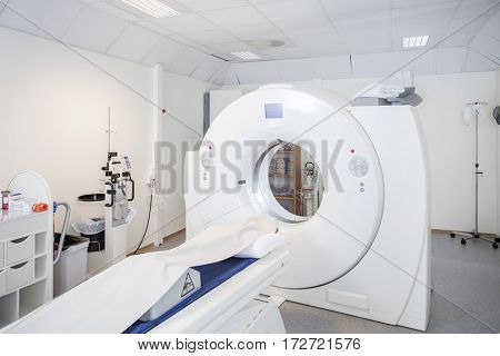 MRI Machine In Hospital