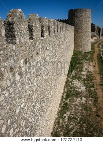 Castle At Uruena, Spain