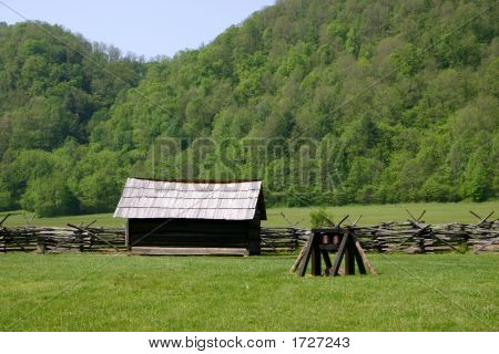 Farm Meadow - Smoky Mountains National Park
