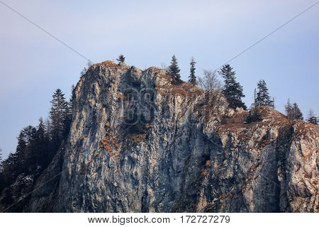 Alpine landscape in the Occidental Carpathians, Romania, Europe
