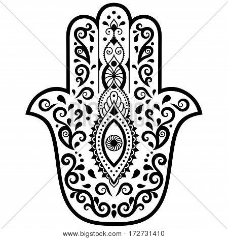 Hamsa images illustrations vectors hamsa stock photos for Evil eye coloring pages