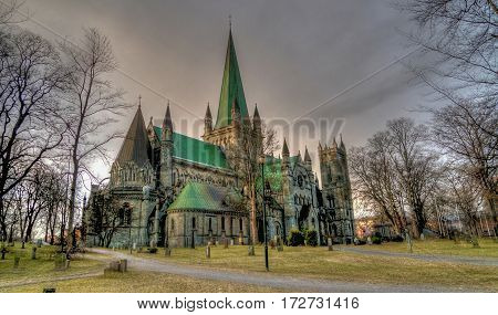 Norway cathedral. scandinavia architecture   architecture, landmark, church, building