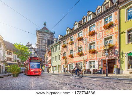 Historic Town Of Freiburg Im Breisgau, Baden-wurttemberg, Germany