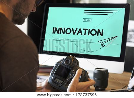 Innovation Paper Plane Creative Imagination