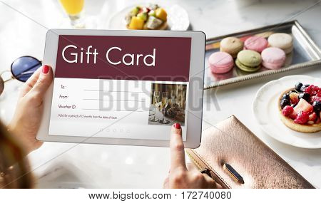 Gift Voucher Coupon Discount Special Offer