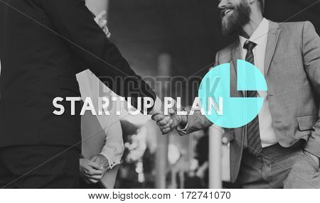 Business Marketing Planning Strategy Graph