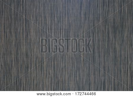 Close up texture of plastic weave mat background