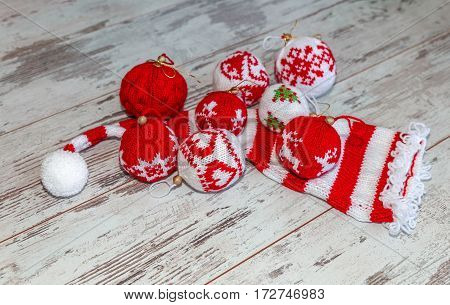 Christmas Balls Textie