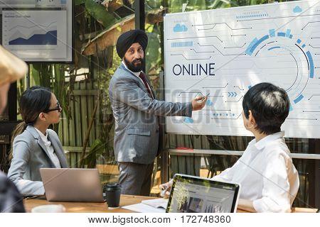 Data Backup Online Connection