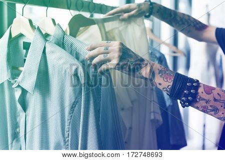 Gradient Color Effect Photo Fashion Designer Job
