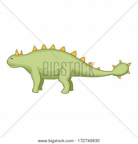 Kentrosaurus icon. Cartoon illustration of kentrosaurus vector icon for web