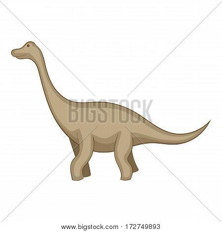 Tyrannosaurus icon. Cartoon illustration of tyrannosaurus vector icon for web