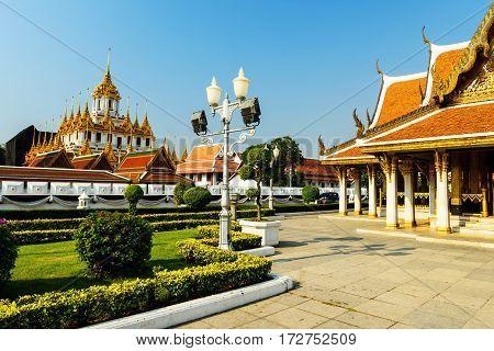 Loha Prasat Of Wat Ratchanadda, Bangkok