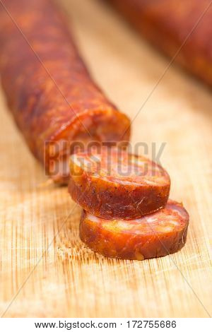 Domestic Raw Smoked Sausages