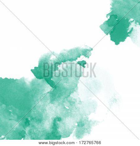 Vector watercolor splash texture background isolated. Hand-drawn blob, spot. Watercolor effects. Springwater color seasonal abstract background.